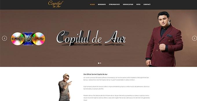 Copilul de Aur lanseaza site-ul in direct LIVE pe Taraf TV